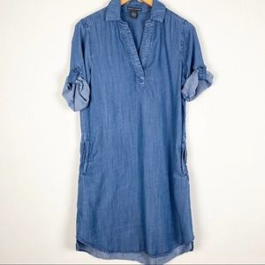 Chelsea and Theodore Chambray Dress